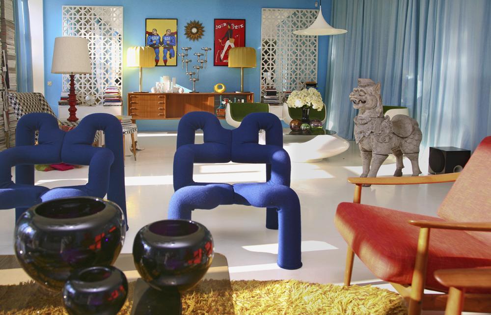Retro Vintage design interior furniture