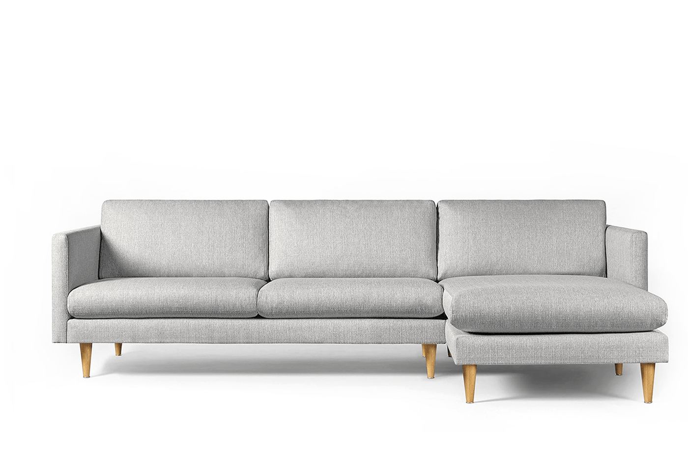 Corner Sofa LEAF, Chaise Lounge on Right - Oot-Oot Studio