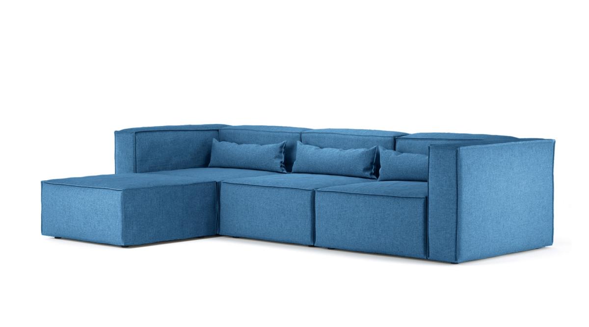 Large Corner Sofa BOLD, Modular Sofa, 4 Units - Oot-Oot Studio