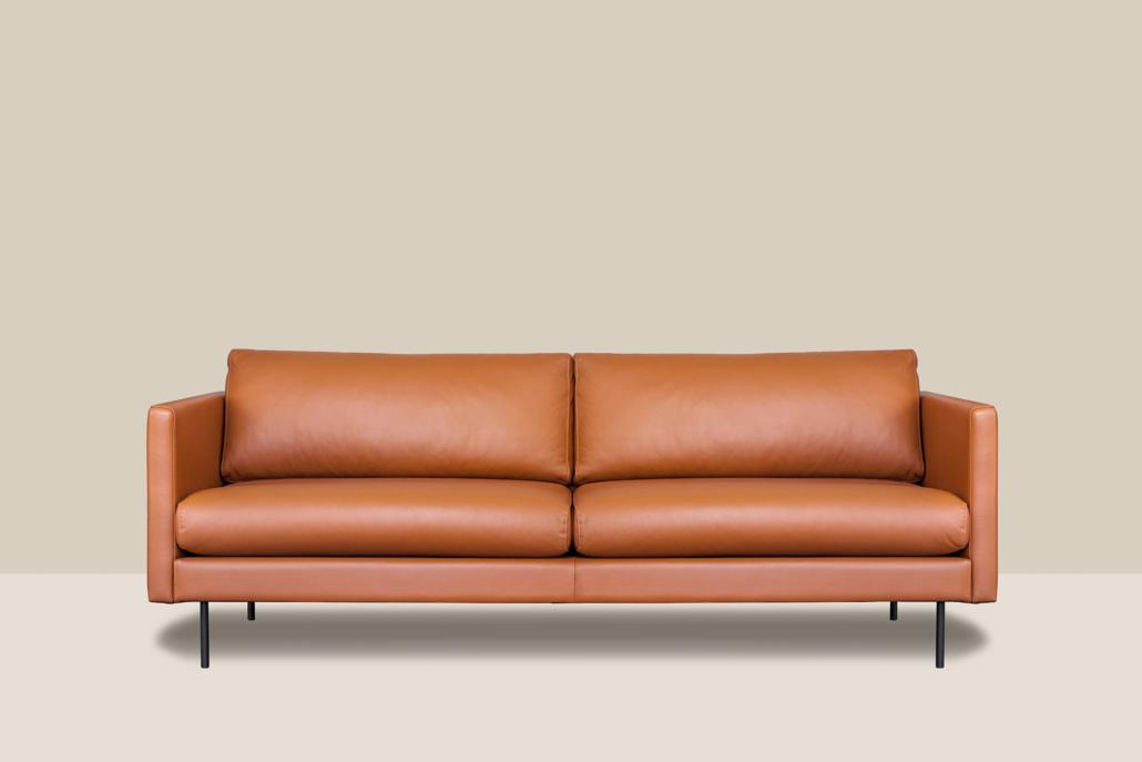 Leather Sofa LEAF