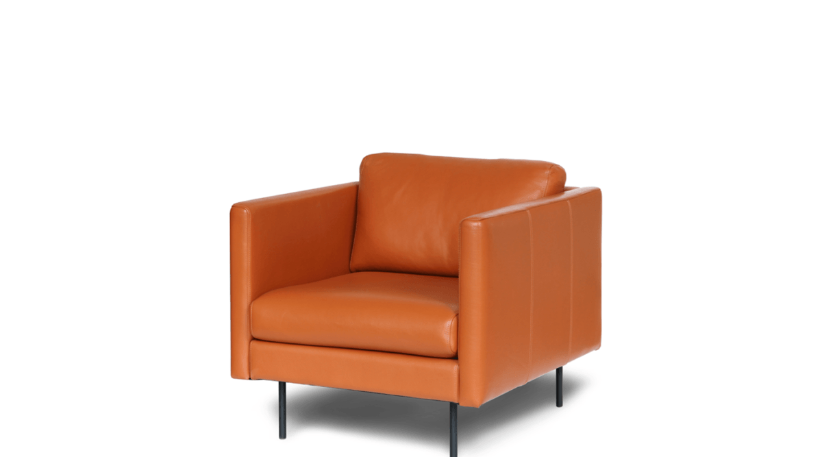 tugitool nojatuoli armchair leather nahk